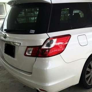 Subaru Exiga 2.0 turbo Si Drive system 2008/2009 Automatic     - SG-