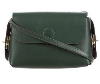 OPENING CEREMONY X FOSSIL LEATHER CROSSBODY BAG