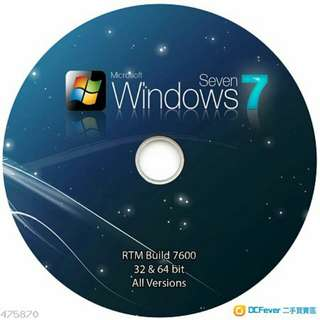 Windows 7 Full Versionall ,All edition 11個繁體版