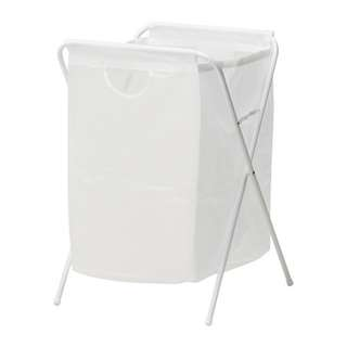 JALL LAUNDRY BAG WITH STAND WHITE