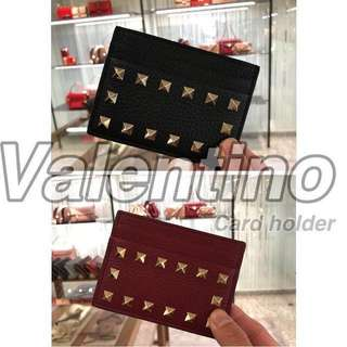 valentino card holder