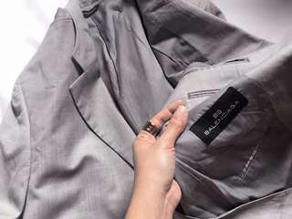 Auth BALENCIAGA coat suit for men
