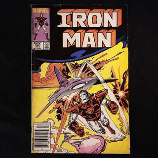 IRON MAN #201(1985 Marvel)