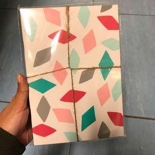 Geometric A5 Notebook Set of 3