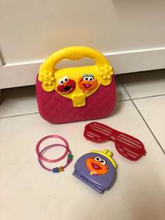 Sesame Street Handbag set