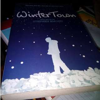 YA novel Wintertown by Stephen Emond comes with comics and illustrations