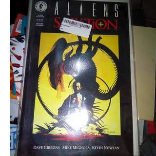 Aliens: Salvation by Mike Mignola and Dave Gibbons