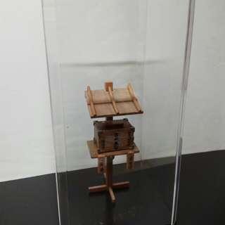 日本明治4年郵箱模型(日文名稱:書狀集箱)