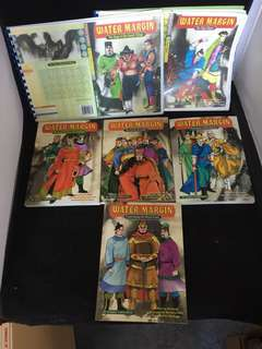 Rare 6 vol Water Margin set complete from asiapac