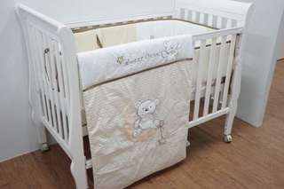 Brand new bedding set for cot