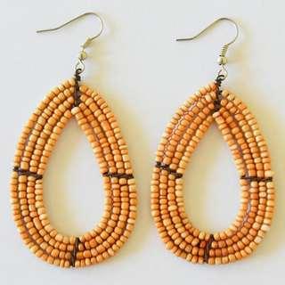 Afrix Oval Earrings