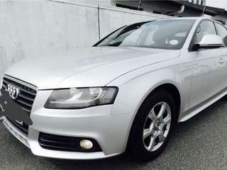 Audi A4 for personal rent
