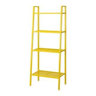 LERBERG Shelf unit, yellow