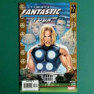 Ultimate Fantastic Four No.27 comic