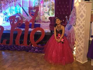 Gown for rent for 7th birthday