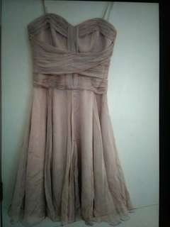 Forever New Beige Dress