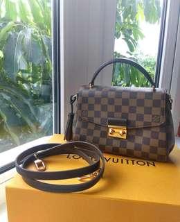 Louis Vuitton Croisette Damier Ebene