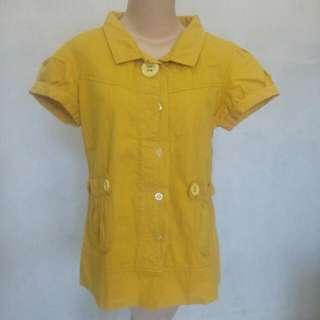 Cute Yellow Mustard Top