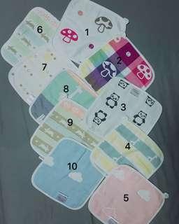NEW Baby handkerchief napkin droolpad