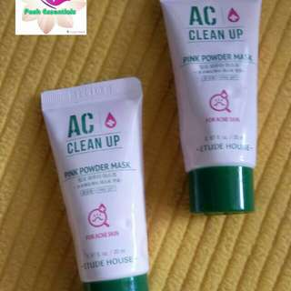 Etude House AC Clean-Up Pink Powder Mask 20ml