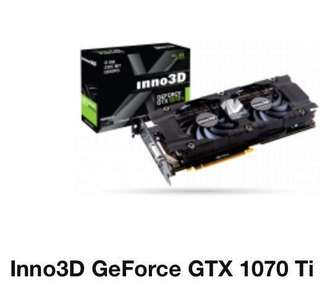Inno3D GEFORCE GTX 1070 TI