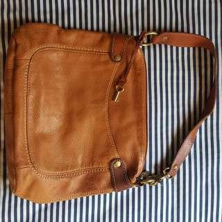 Vintage Fossil Hobo Bag