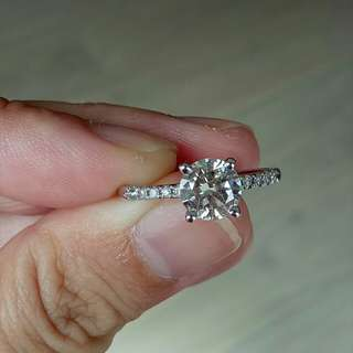 1.53ct D-E/vs diamond ring