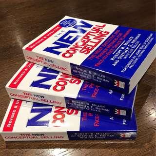 Award winning Strategic Selling Books
