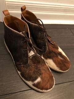 Zara horse hair shoes