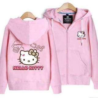 Hello kitty adult Jacket 🔖390  💫Thick cotton 💫🆓size fits S-LArge *sc SATURDAY-CUTOFF SUNDAY-PICKUP MONDAY-SHIPPING