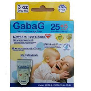 Gabag Breastmilk Storage Bag