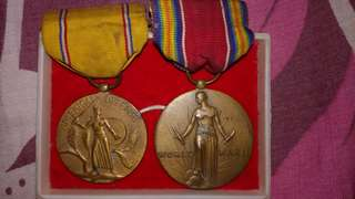 2 World War ll Medals
