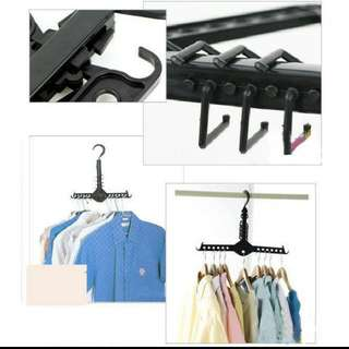Hanger gantung lipat