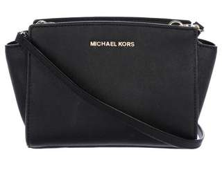 MICHAEL MICHAEL KORS MINI SELMA CROSSBODY BAG