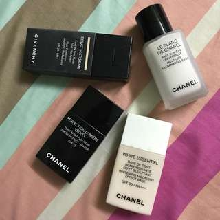 Foundation & Make Up Base- Chanel / Givenchy