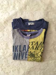 Charity Sale! Set of Boy's Size Small 7-8 Years Old T-Shirts