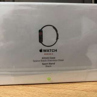 BN Apple Watch Series 3 42mm GPS + Cellular - Stainless Steel Model