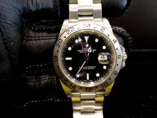 PREOWNED ROLEX EXPLORER II, 16570, Steel, 40mm, D Series @ Year 2006 Mens Watch