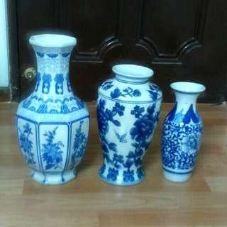 Antique Chinese Vase(3 Pieces)