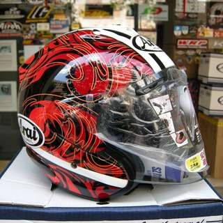 Arai Ram 3 Riptide Red ! Ready Stock ! Promo ! Do Not PM ! Kindly Call Us ! Kindly Follow Us !
