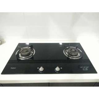 Rubine Tonia 2B - Extra Large Kitchen Hob