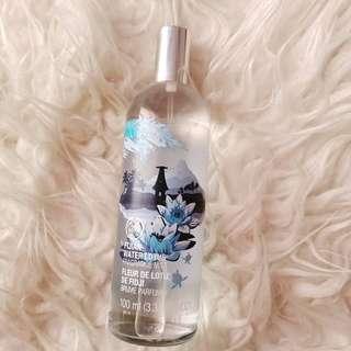 Body Shop Parfum variant Fijian Water Lotus 100ml
