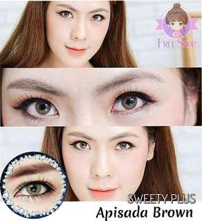 Contact lens / Free case