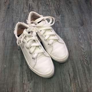 Zara white shoes.  Used. 70% new