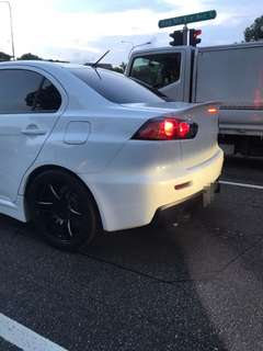Evo X Boot Duck Lip