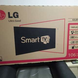 LG 42 inch Smart Led Tv