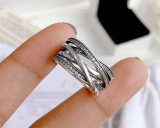 Pandora Entwinned Strand Ring