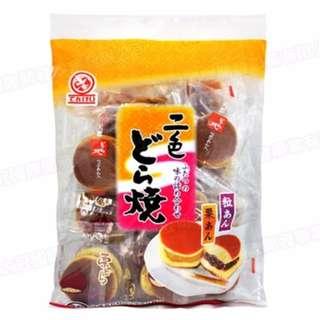 🚚 🎉【最後出清 ↘下殺$79】🎉【天惠製果】二色銅鑼燒(265g) 紅豆栗子