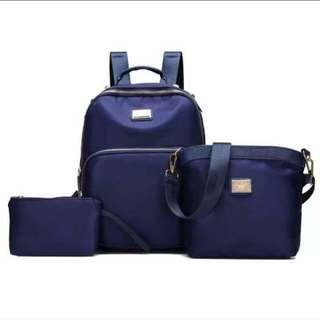 Korean Backpack 3in1