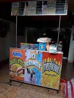 Franchising food cart